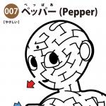ロボットPepper(ペッパー)の簡単迷路