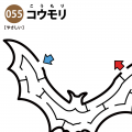 コウモリの簡単迷路 アイキャッチ