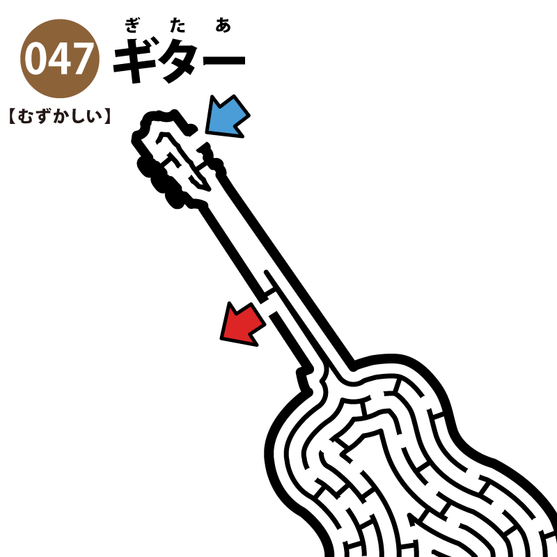 ギターの難しい迷路 アイキャッチ