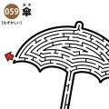 傘の難しい迷路 アイキャッチ