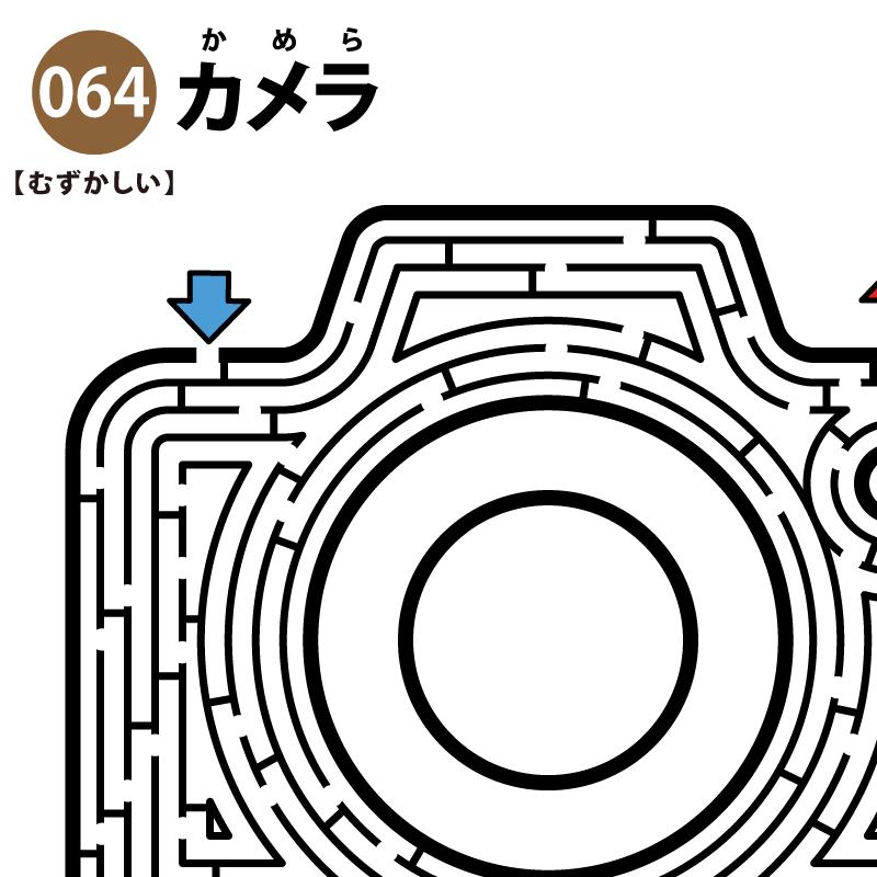 カメラの難しい迷路 アイキャッチ