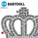 BABYDOLLの難しい迷路