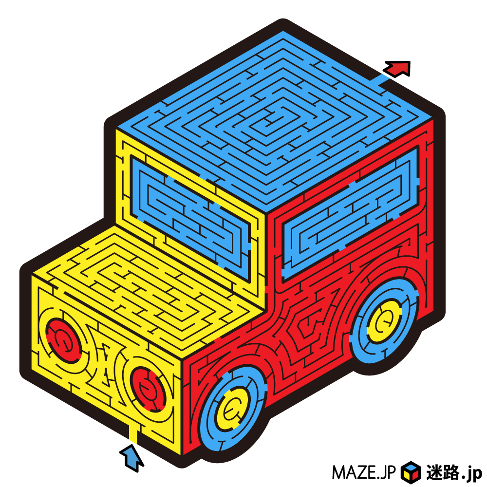 迷路.jp 2周年の迷路