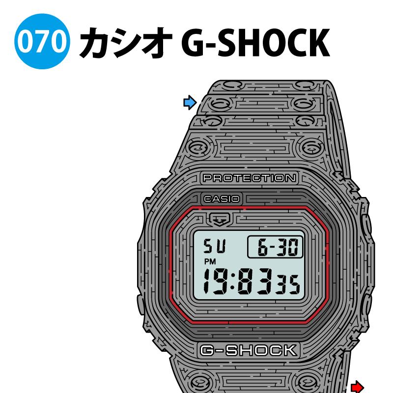 カシオ G-SHOCKの迷路 アイキャッチ
